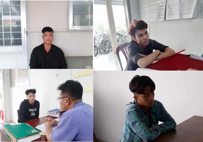 Nhóm đối tượng dàn cảnh để cướp tài sản của nạn nhân. Ảnh: Vietnamnet