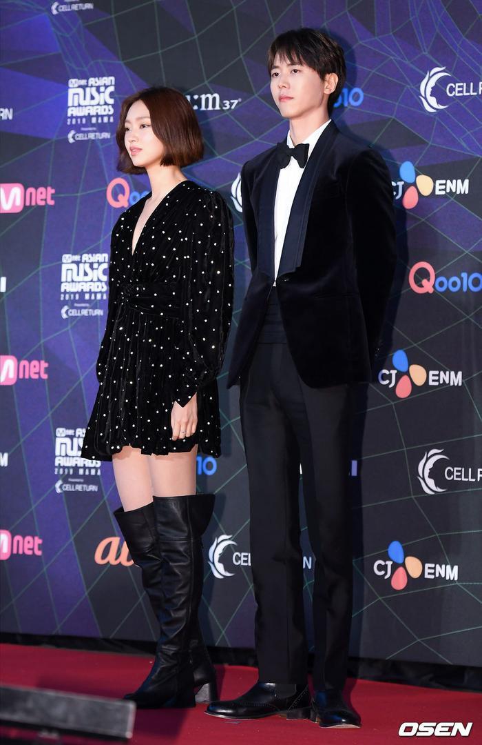 Người mẫu Choi Yoo Hwa và Jo Woo Jae.