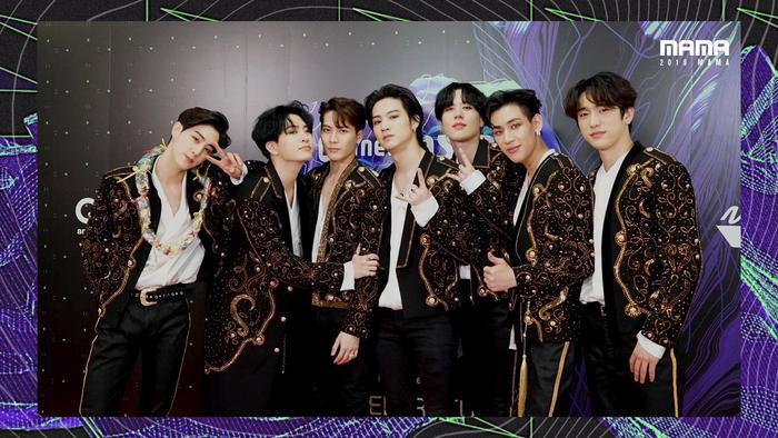 GOT7 đạt Bonsang TOP 10 Worldwide Fan's Choice, Màn trình diễn vũ đạo được yêu thích nhất.