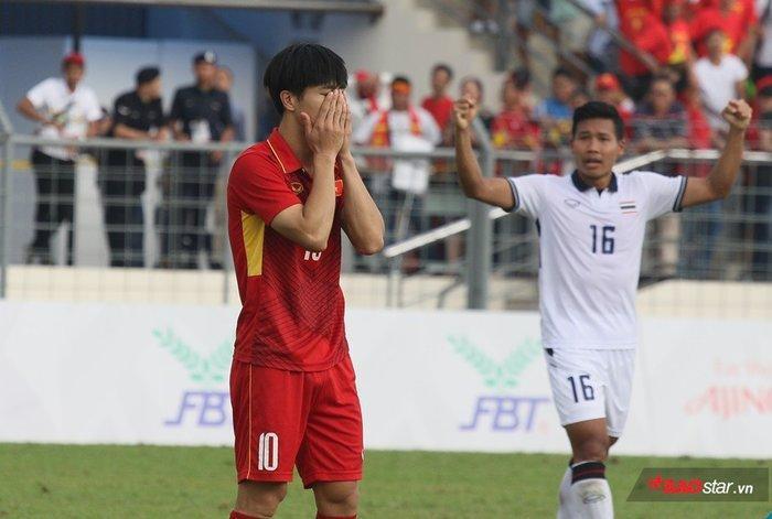 Thế hệ Công Phượng thất bại cay đắng trước Thái Lan tại SEa Games 2017.
