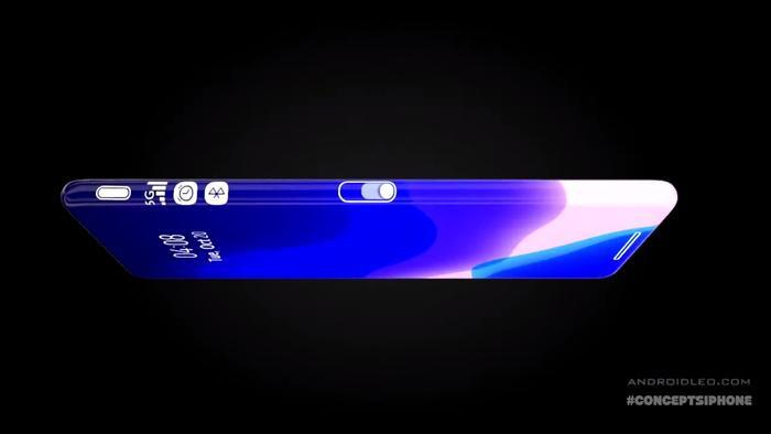 iPhone 12 Pro đẹp hút hồn với màn hình tràn cong 4 cạnh, 3 camera siêu to khổng lồ - Ảnh 5.