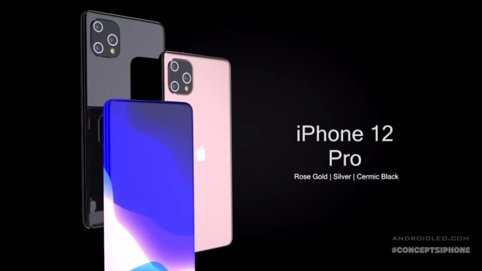 iPhone 12 Pro đẹp hút hồn với màn hình tràn cong 4 cạnh, 3 camera siêu to khổng lồ - Ảnh 9.