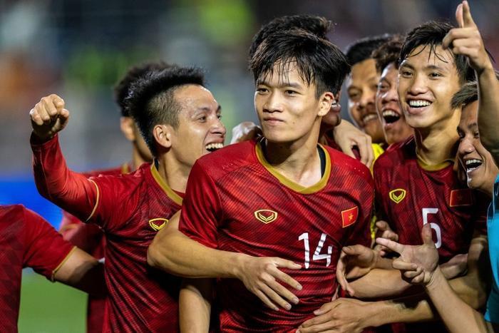 Đội hình hiện tại của U22 Việt Nam với đa số là các tuyển thủ quốc gia.