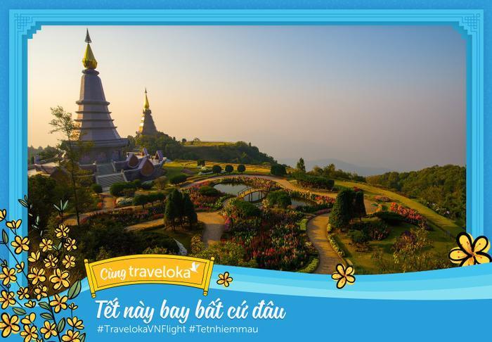 """Tận hưởng Chiang Mai yên bình, """"trốn"""" khỏi những khói bụi thành phố."""