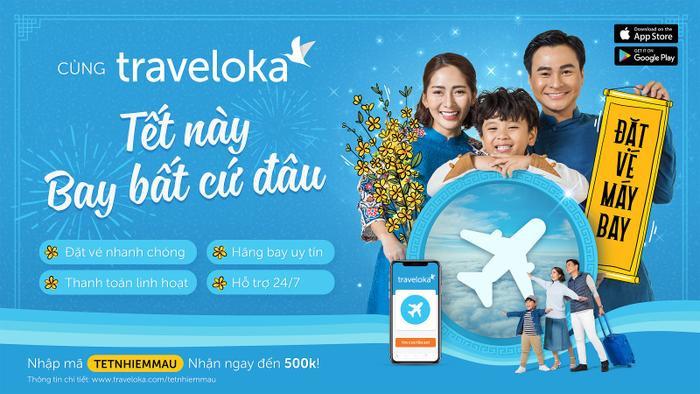Traveloka sẽ đồng hành trong những chuyến bay đưa cả gia đình du xuân sau một năm vất vả.