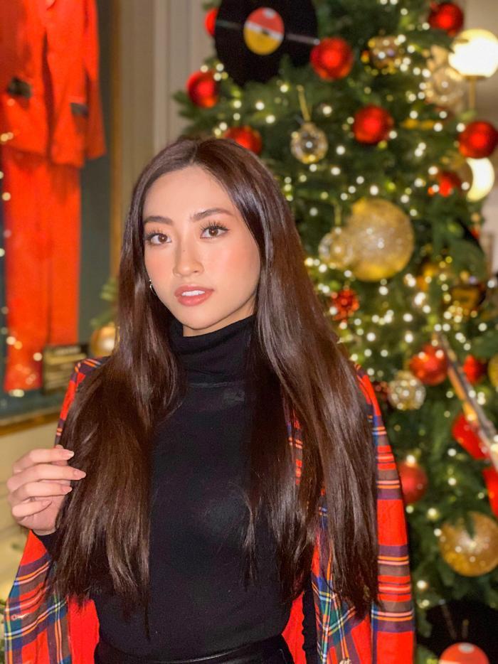 Lương Thùy Linh toát ra vẻ đẹp thanh thoát và đúng với tiêu chí mà Miss World đang tìm kiếm.