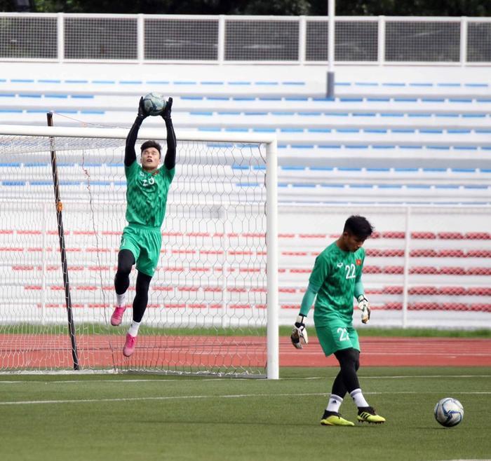 Vị trí thủ môn trở thành nỗi lo cho HLV Park Hang Seo. Ảnh: VFF.