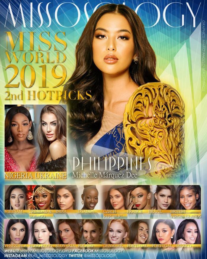 Đại diện Việt Nam được đánh giá rất cao ở vị trí Top 4 Miss World 2019.