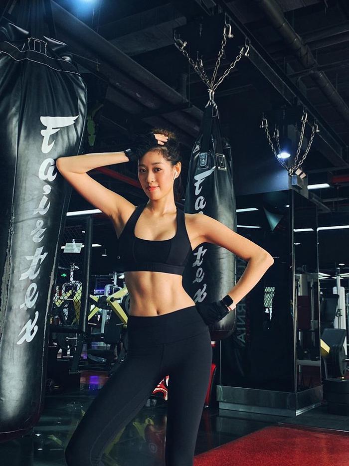 Bí quyết sở hữu thân hình 'chuẩn không cần chỉnh' của tân Hoa hậu Hoàn vũ Việt Nam 2019 chính là chăm chỉ tập gym
