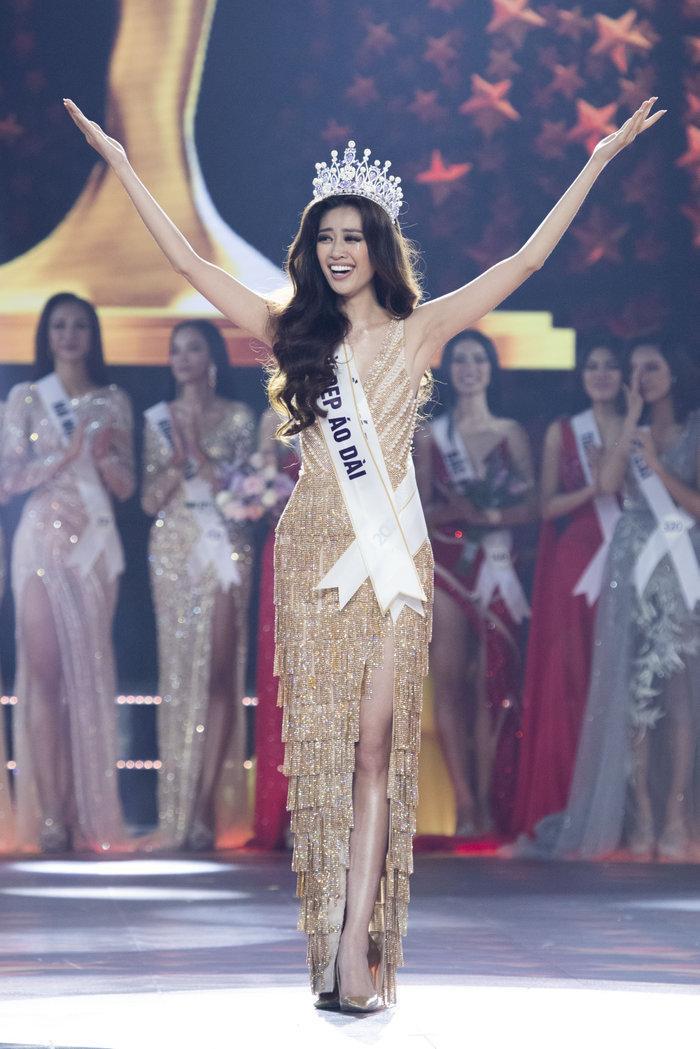 Người đẹp sinh năm 1995 đến từ Thành phố Hồ Chí Minh chính là chủ nhân của chiếc vương miện cao quýHoa hậu Hoàn vũ Việt Nam 2019