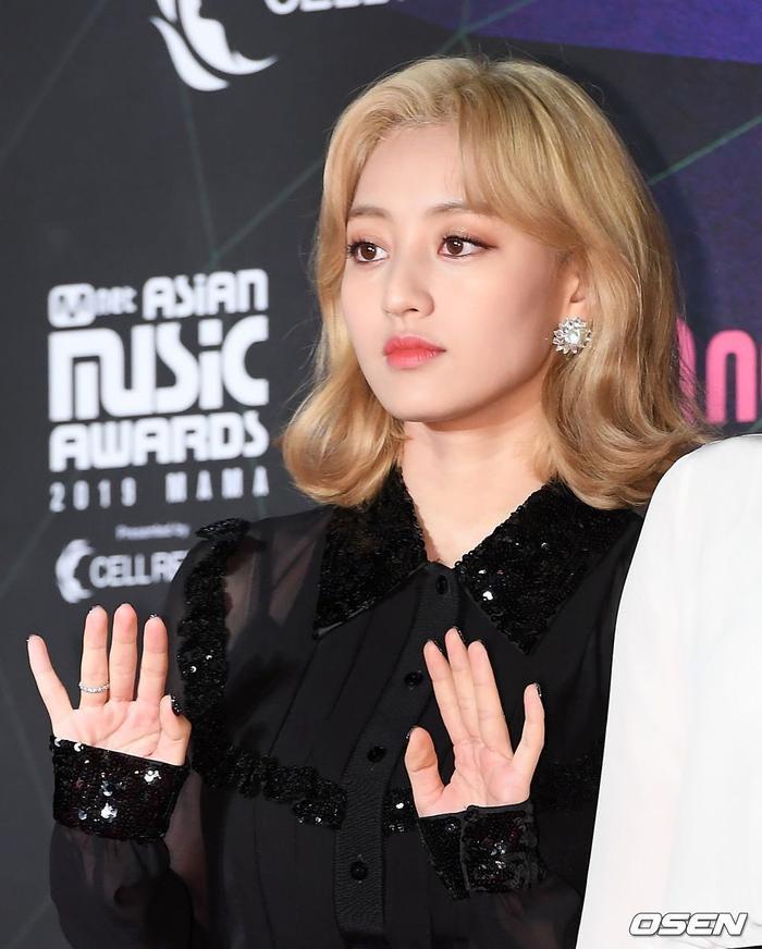 Jihyo thiếu sức sống tại MAMA 2019.