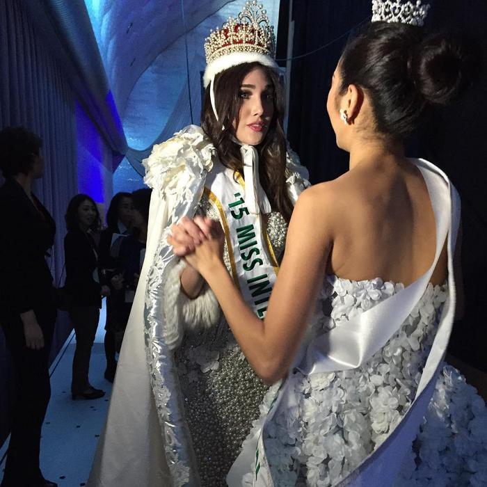 …sau cuộc thi Miss International 2015 khiến fan sắc đẹp vô cùng ngưỡng mộ về mối quan hệ này.