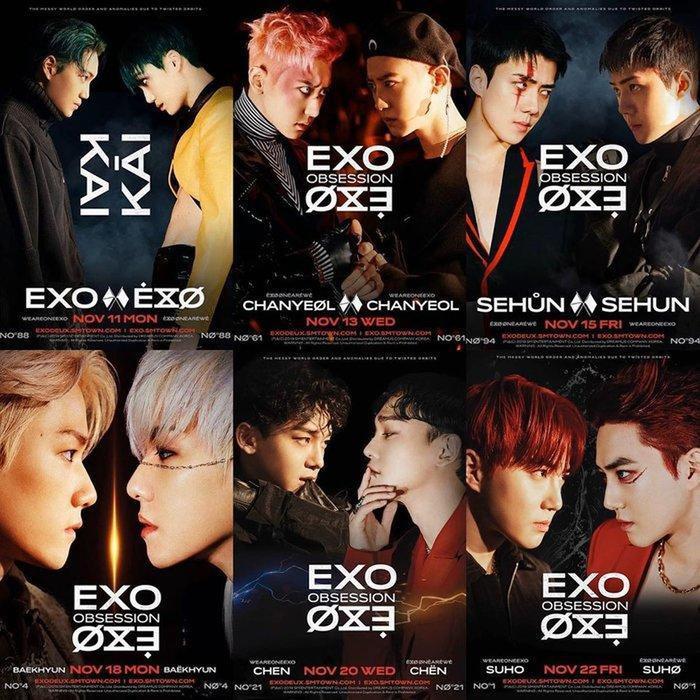 EXO tiếp tục chứng tỏ sức mạnh của mình với album Obsession sau 2 tuần ra mắt.
