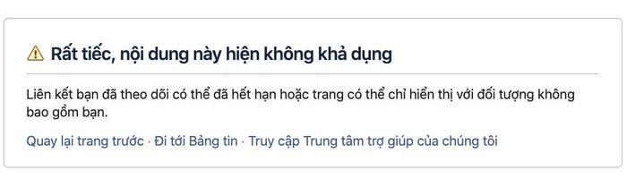 Facebook cá nhân củaJoanna Charaktis hiện đã không còn truy cập được.
