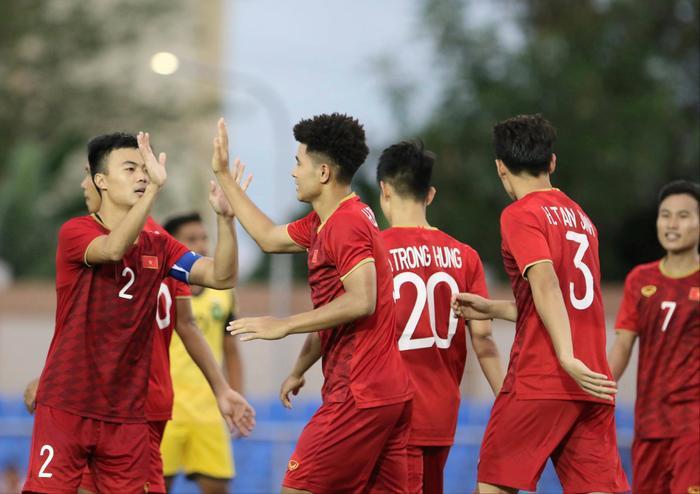 U22 Việt Nam là một trong những đội bóng thu hút được nhiều sự chú ý nhất ở SEA Games 22. (Ảnh: VFF)