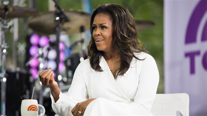 Bà Obama nói về việc tiếp tục đấu tranh đòi quyền cho phụ nữ và trẻ em gái trên toàn thế giới trong một buổi phỏng vấn của Today show.
