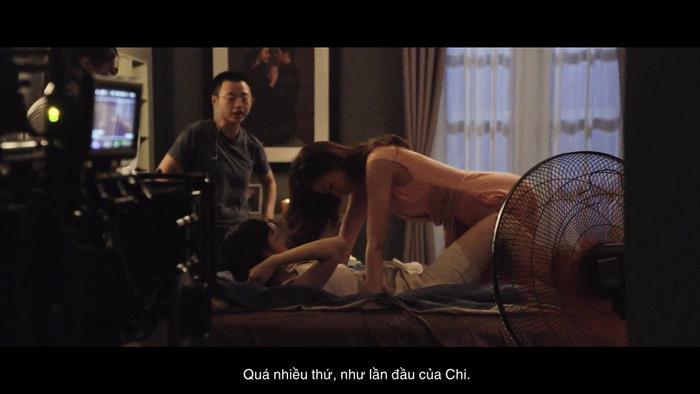Cảnh nóng cuồng nhiệt của Thanh Hằng  Chi Pu và Lãnh Thanh trong Chị chị em em ảnh 3