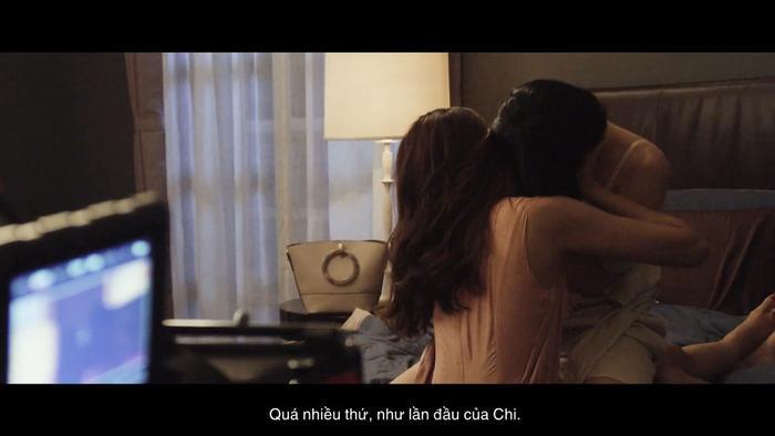 Cảnh nóng cuồng nhiệt của Thanh Hằng  Chi Pu và Lãnh Thanh trong Chị chị em em ảnh 4