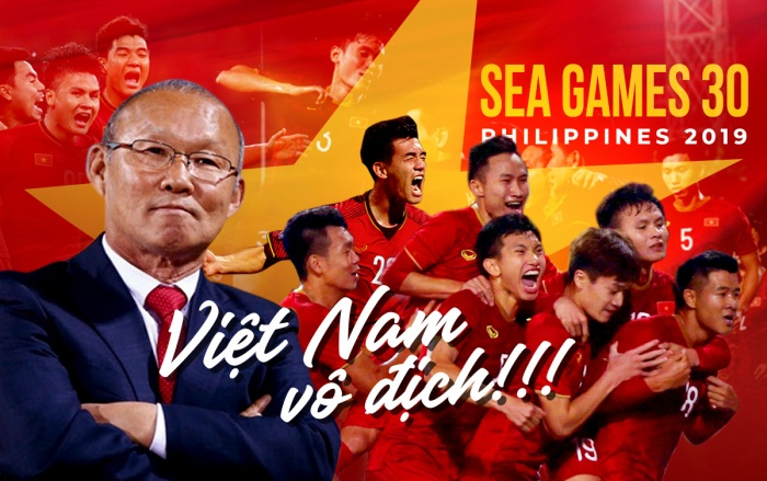 HLV Park Hang Seo đã giúp U22 Việt Nam giành HCV SEA Games sau hơn nửa thế kỷ chờ đợi.