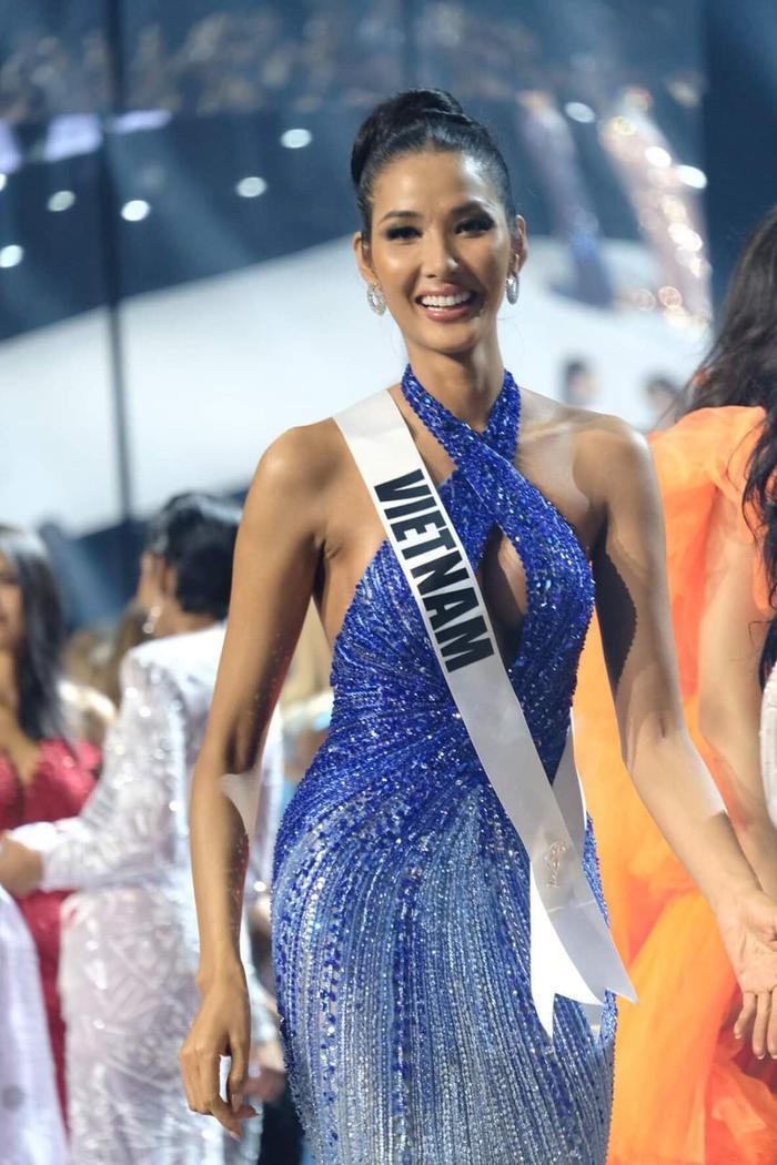 Hoàng Thùy dừng chân trước Top 10 Miss Universe: Fan tiếc nuối váy dạ hội đẹp đỉnh chưa được trình diễn ảnh 0