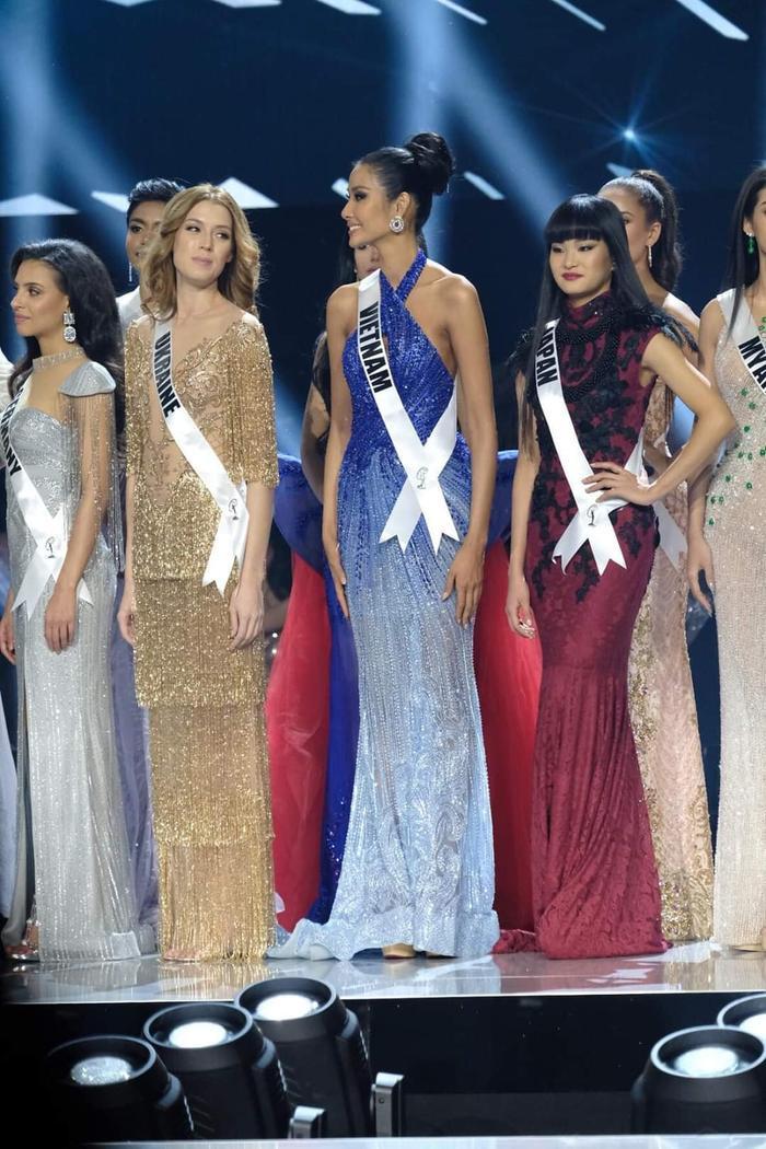 Hoàng Thùy dừng chân trước Top 10 Miss Universe: Fan tiếc nuối váy dạ hội đẹp đỉnh chưa được trình diễn ảnh 7