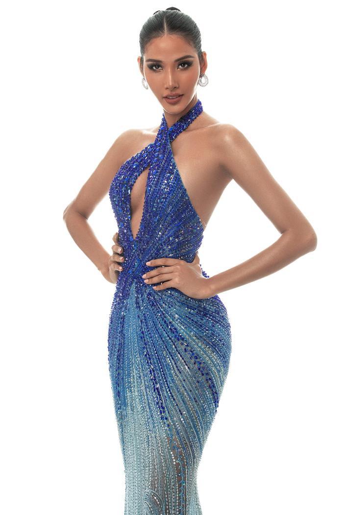 Hoàng Thùy dừng chân trước Top 10 Miss Universe: Fan tiếc nuối váy dạ hội đẹp đỉnh chưa được trình diễn ảnh 2
