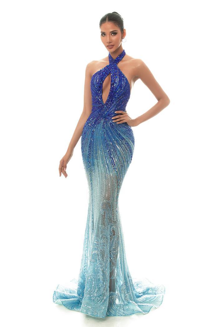 Hoàng Thùy dừng chân trước Top 10 Miss Universe: Fan tiếc nuối váy dạ hội đẹp đỉnh chưa được trình diễn ảnh 3