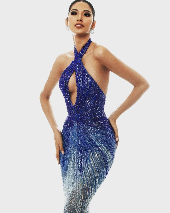 Hoàng Thùy dừng chân trước Top 10 Miss Universe: Fan tiếc nuối váy dạ hội đẹp đỉnh chưa được trình diễn ảnh 4