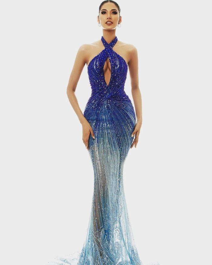 Hoàng Thùy dừng chân trước Top 10 Miss Universe: Fan tiếc nuối váy dạ hội đẹp đỉnh chưa được trình diễn ảnh 5