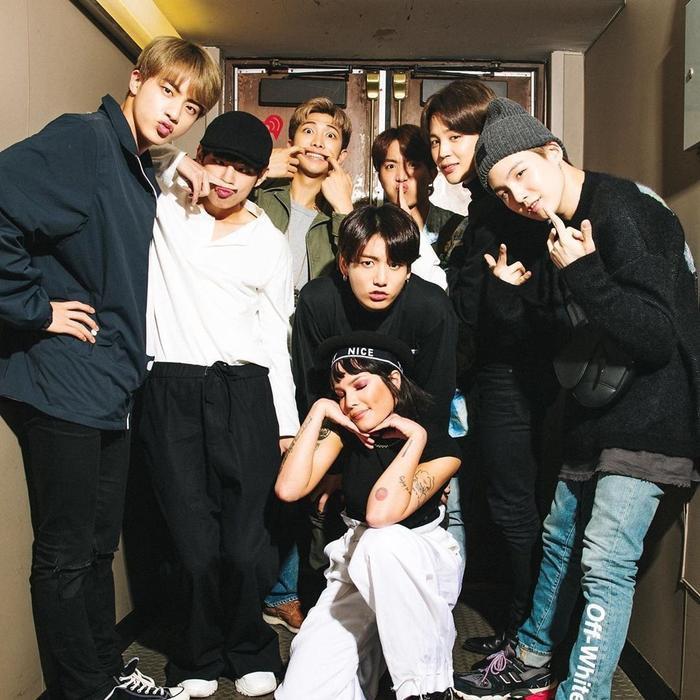 Bạn có nhớ hết những nghệ sĩ từng hợp tác với BTS kể từ khi debut? ảnh 10