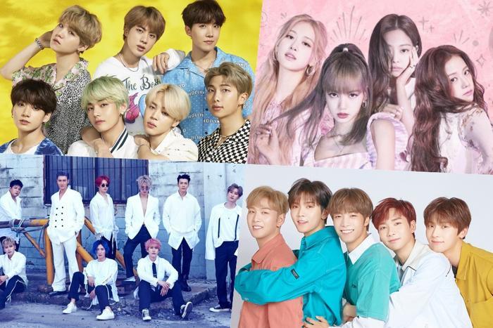 BTS, BlackPink, Super Junior, Nu'est nhận chứng nhận bạch kim từ Gaon.