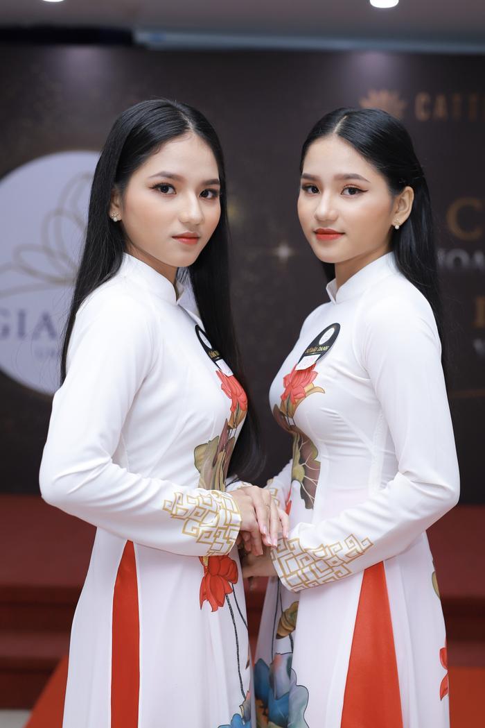Chị em sinh đôi ĐH Gia Định tại vòng sơ khảo Miss University NHG 2020: Quan trọng là được làm điều mình thấy hạnh phúc ảnh 2