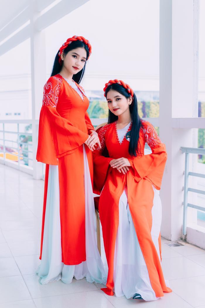 Chị em sinh đôi ĐH Gia Định tại vòng sơ khảo Miss University NHG 2020: Quan trọng là được làm điều mình thấy hạnh phúc ảnh 8