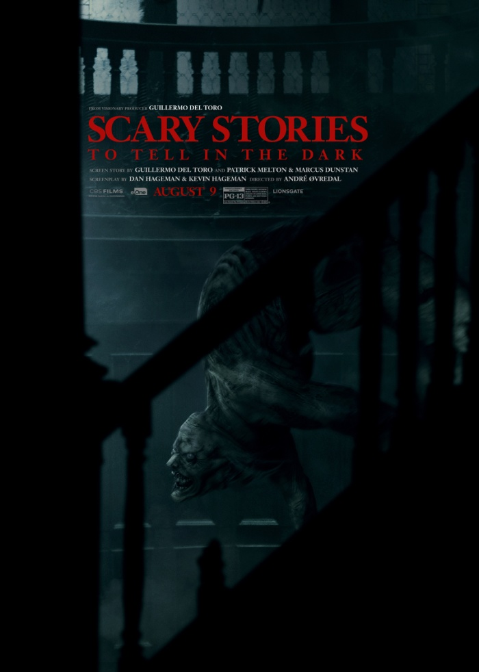 "Poster phim ""Scary stories to tell at night""."