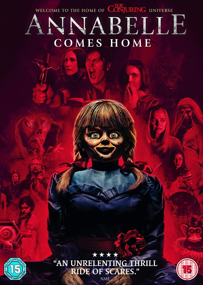 "Poster phim ""Annabelle Comes Home""."