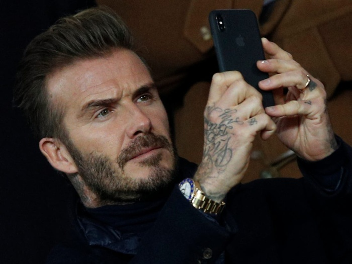 Trong vòng 1 năm qua, David Beckham đã đăng tải hơn 30 bài đăng chứa quảng cáo, và có thể thu về tới gần 9 triệu bảng Anh, cụ thể là 8,6 triệu bảng (gần 268 tỷ đồng). (Ảnh:AP Photo / Christophe Ena)