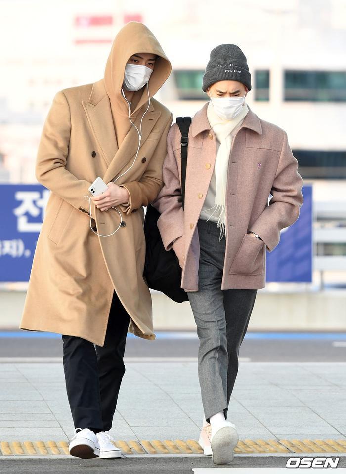 Sehun và Suho.
