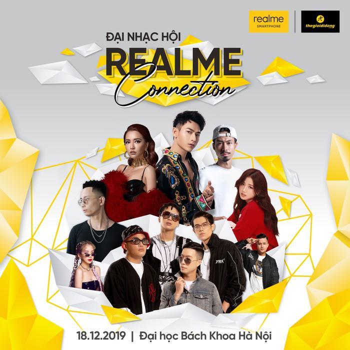 Nhớ nhé, sự kiện Realme Connection sẽ diễn ra từ 9h sáng ngày 18/12 tới tại trường Đại học Bách Khoa Hà Nội.