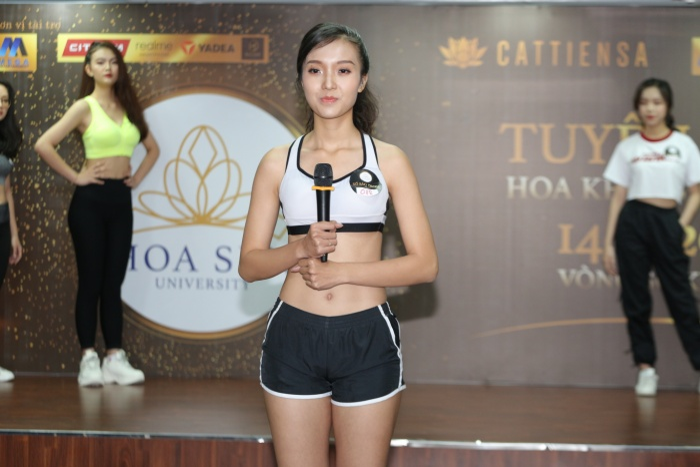 Thí sinh Đặng Khánh Linh