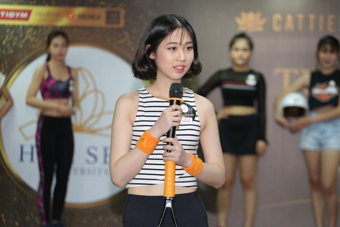 Thí sinh Nguyễn Uyên Thảo