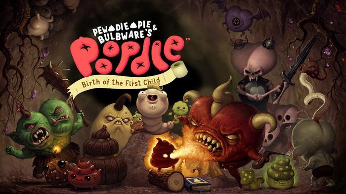 Hình ảnh tựa game Poopdie được PewDiePie phát triển bị Apple cấm xuất hiện trên iOS. (Ảnh: Bulbware)