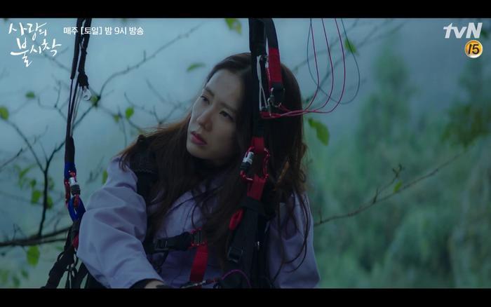 Hạ cánh nơi anh tập 1: Son Ye Jin bất ngờ tỏ tình với Hyun Bin khi đang khổ sở chạy trốn khỏi sự truy sát ảnh 9