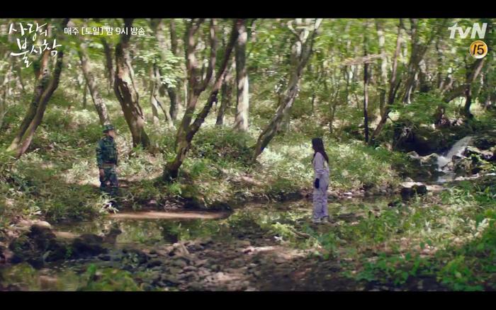 Hạ cánh nơi anh tập 1: Son Ye Jin bất ngờ tỏ tình với Hyun Bin khi đang khổ sở chạy trốn khỏi sự truy sát ảnh 22