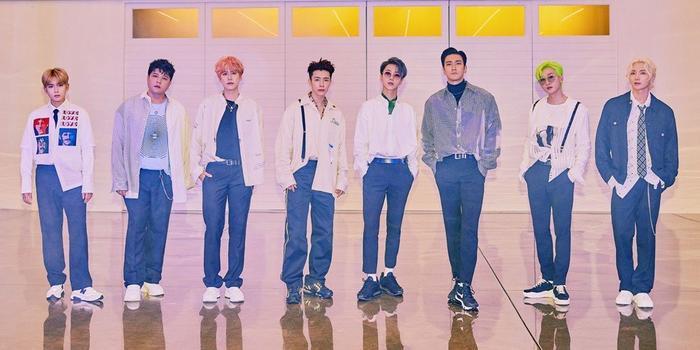 Super Junior có mặt ở hạng 9.