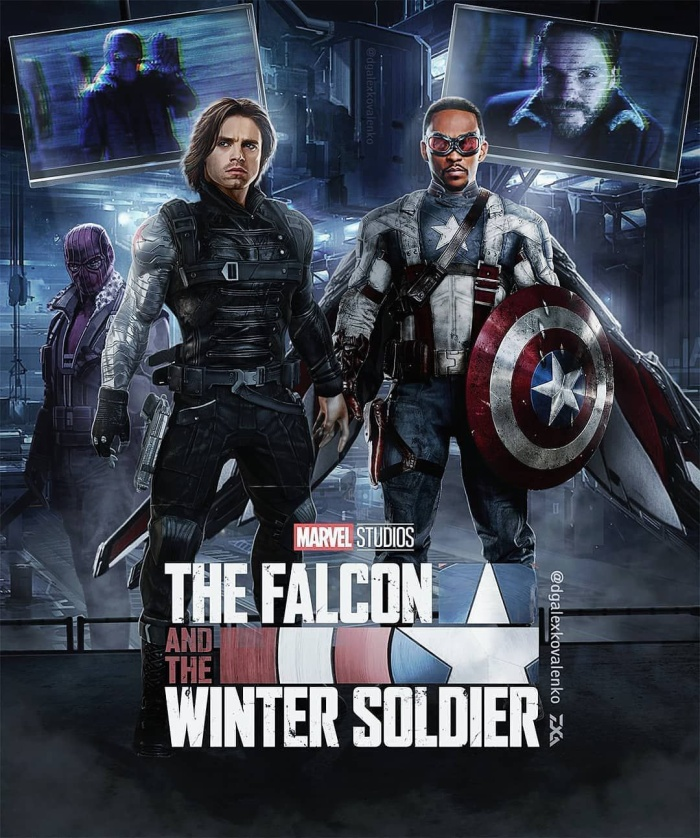 Poster phimThe Falcon and the Winter Solider