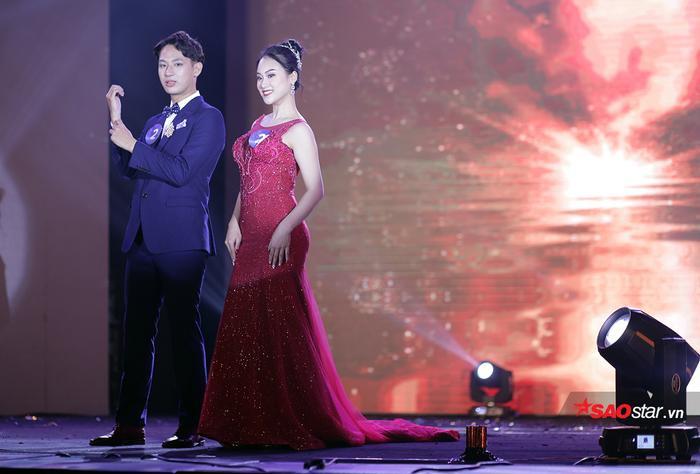 Cặp đôi ăn ý Phùng Trang Linh và Nguyễn Hoàng Nam
