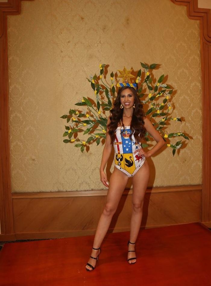 Trang phục dân tộc của đối thủ Thúy An ở Miss Intercontinental bị chê nghèo nàn, ví von giống đồ ngủ ảnh 18