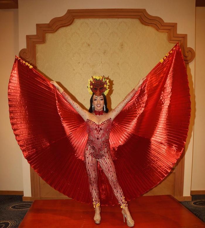 Trang phục dân tộc của đối thủ Thúy An ở Miss Intercontinental bị chê nghèo nàn, ví von giống đồ ngủ ảnh 20
