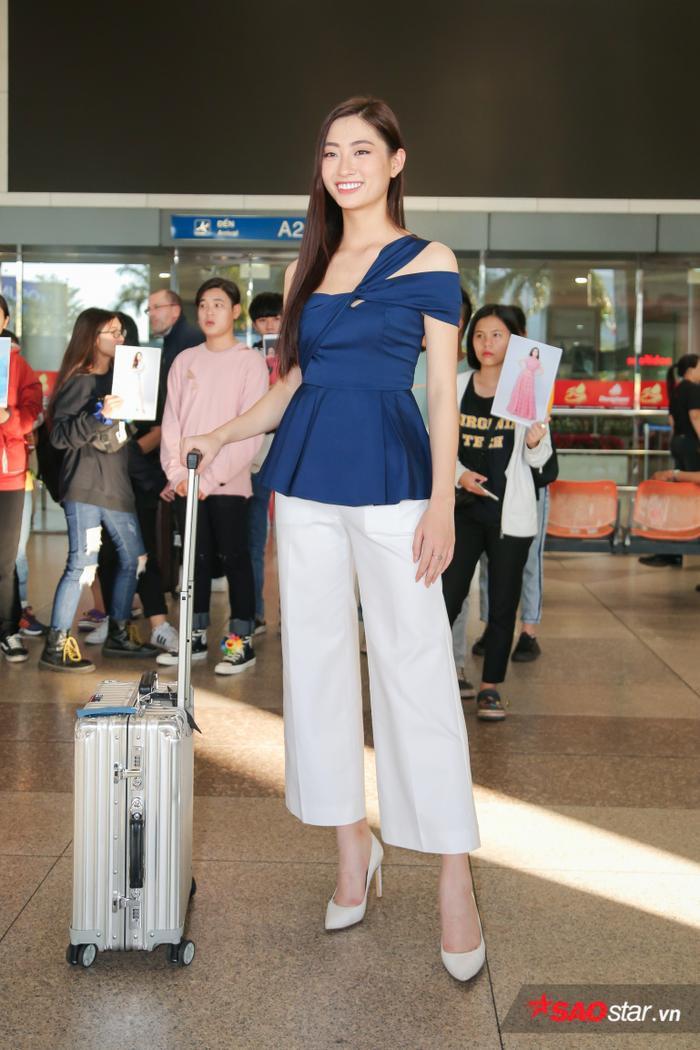 Trở về từ Miss World, Lương Thùy Linh sum họp Kiều Loan  Tường San: 3 nhan sắc in-top vẻ vang ảnh 6
