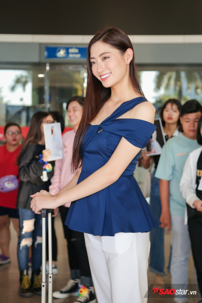 Trở về từ Miss World, Lương Thùy Linh sum họp Kiều Loan  Tường San: 3 nhan sắc in-top vẻ vang ảnh 5